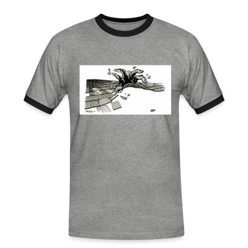 ORDER white background - Men's Ringer Shirt