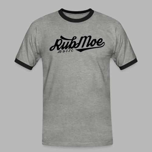 RubMoe - Kontrast-T-skjorte for menn