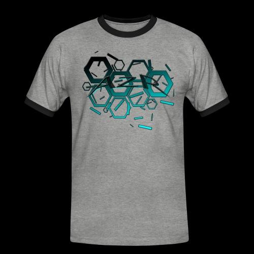 AZR - T-shirt contrasté Homme