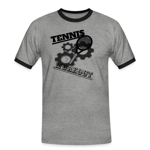 TENNIS WORKOUT - Men's Ringer Shirt
