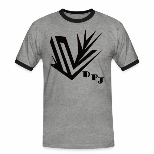 dpj - T-shirt contrasté Homme