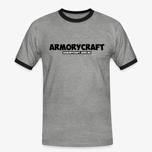 ArmoryCraft- Mannen korte mouw - Mannen contrastshirt