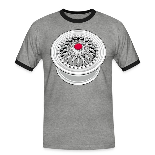 Vintage wheel - T-shirt contrasté Homme