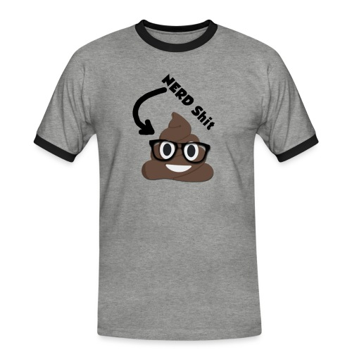 NERD Shit - Männer Kontrast-T-Shirt