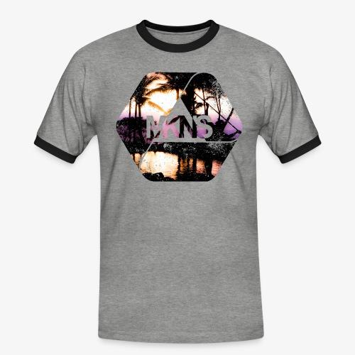 MKNS0008 - Männer Kontrast-T-Shirt