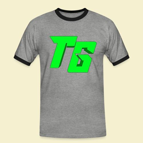 TristanGames logo merchandise [GROOT LOGO] - Mannen contrastshirt