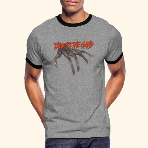 Talk To The Hand - Mannen contrastshirt