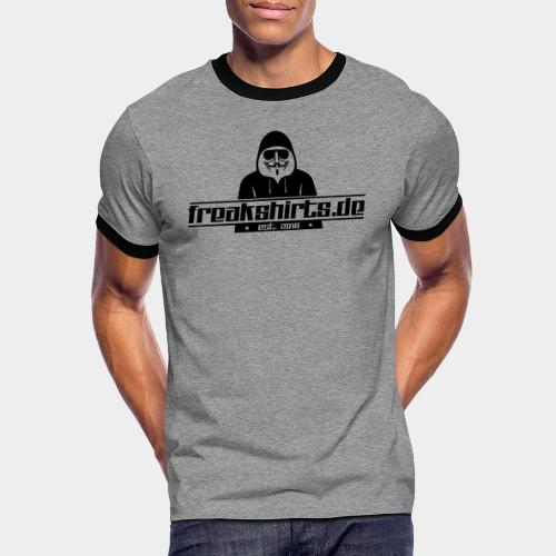 FREAKSHIRTS.de (Logo) - Männer Kontrast-T-Shirt