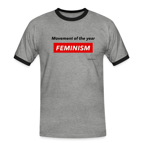 Feminism - Men's Ringer Shirt
