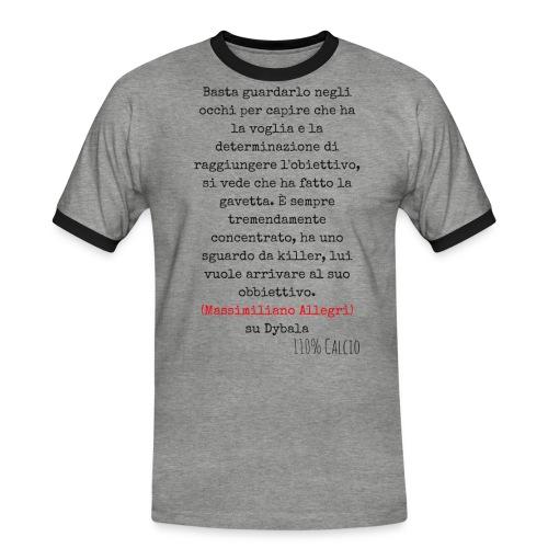 maglia110 dybala - Maglietta Contrast da uomo