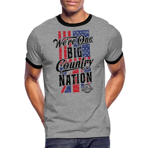 Country Nation - Men's Ringer Shirt