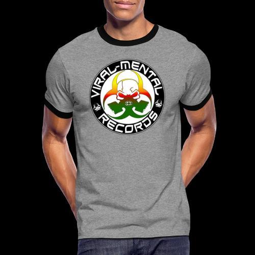 Viral Mental Records Logo - Men's Ringer Shirt