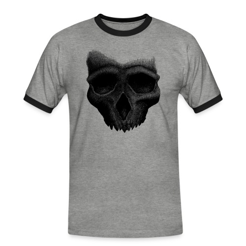 Simple Skull - T-shirt contrasté Homme