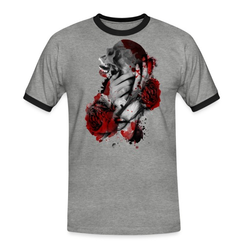 skullgirl - Camiseta contraste hombre