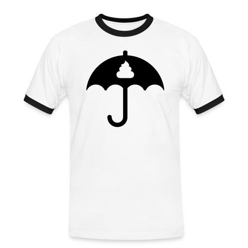 Shit icon Black png - Men's Ringer Shirt