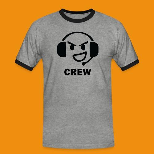 T-shirt-front - Herre kontrast-T-shirt