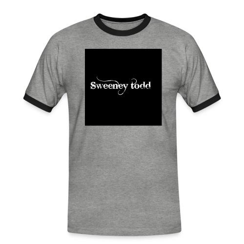 Sweney todd - Herre kontrast-T-shirt