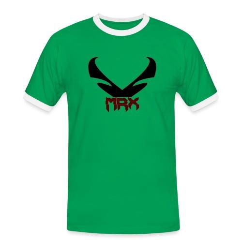 Black MRX - Männer Kontrast-T-Shirt