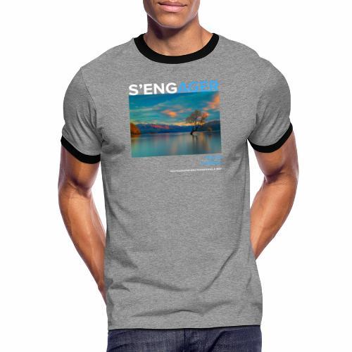 1 Achat = 1 Don à la Fondation Nicolas Hulot - T-shirt contrasté Homme