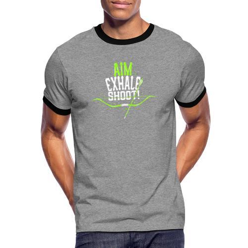Bogenschütze - Männer Kontrast-T-Shirt
