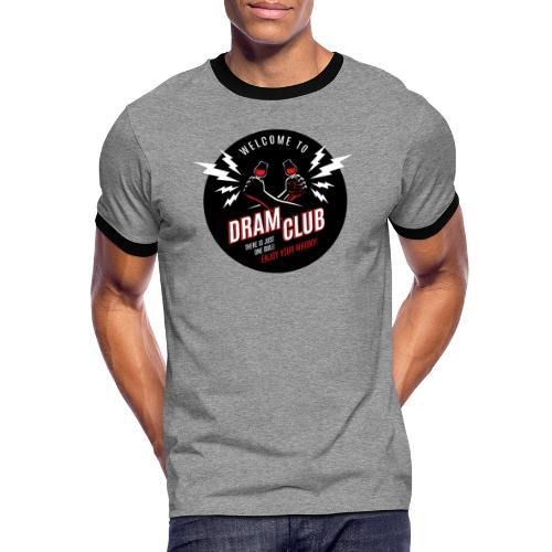 """Malt meets Movie""-Series Part 6: DRAM CLUB - Männer Kontrast-T-Shirt"