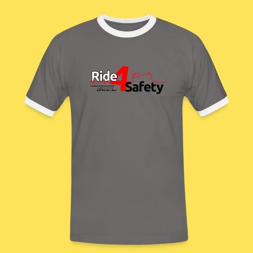Ride4Safety - Maglietta Contrast da uomo