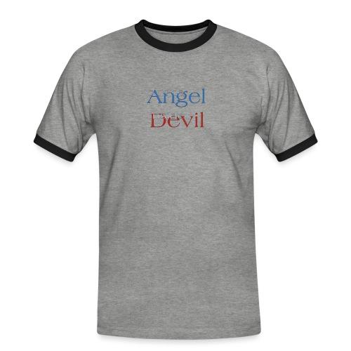 Angelo o Diavolo? - Maglietta Contrast da uomo