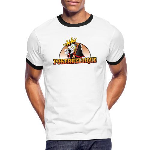 Logo Poker Belgique - T-shirt contrasté Homme