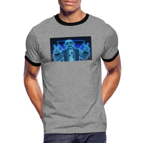 FullSizeR - Kontrast-T-shirt herr