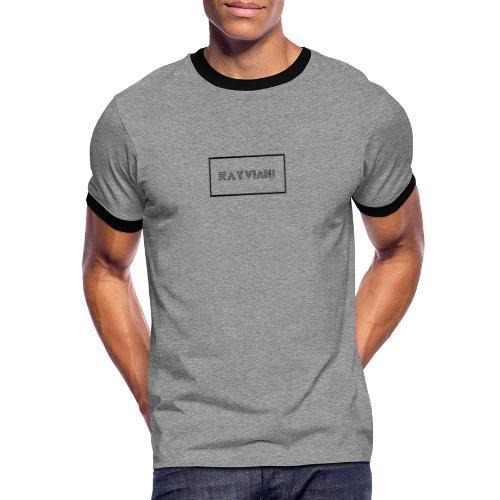 RayViani - T-shirt contrasté Homme