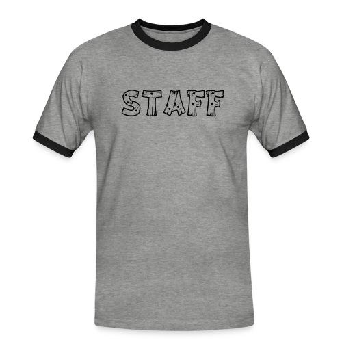 STAFF - Maglietta Contrast da uomo