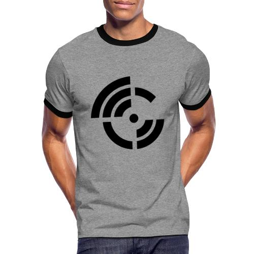 electroradio.fm logo - Men's Ringer Shirt
