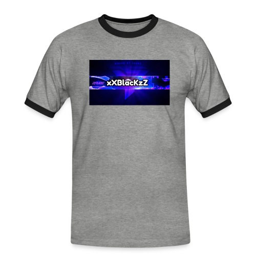 XxBlacKzZ - Männer Kontrast-T-Shirt