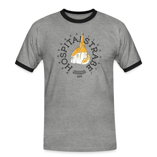 Männer - helle Textilien - Männer Kontrast-T-Shirt