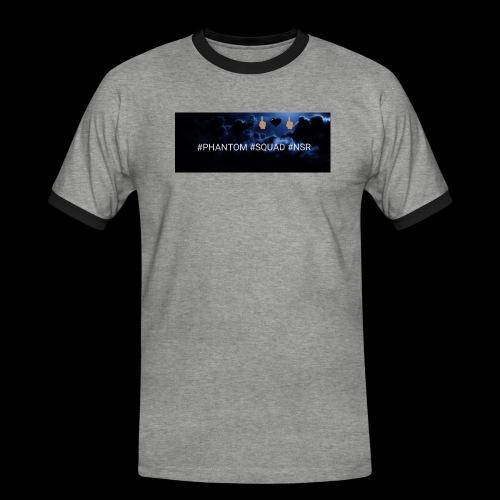 #PHANTOM #SQUAD #NSR Shirt - Männer Kontrast-T-Shirt