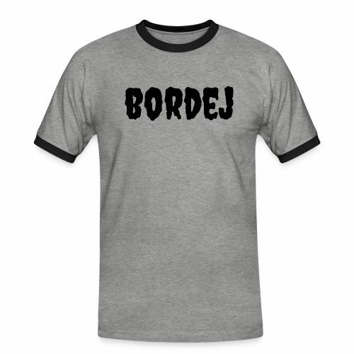 bordej balck - Maglietta Contrast da uomo