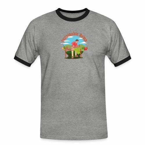 Cáñamo Sustentable en Inglés (Sustainable Hemp) - Camiseta contraste hombre
