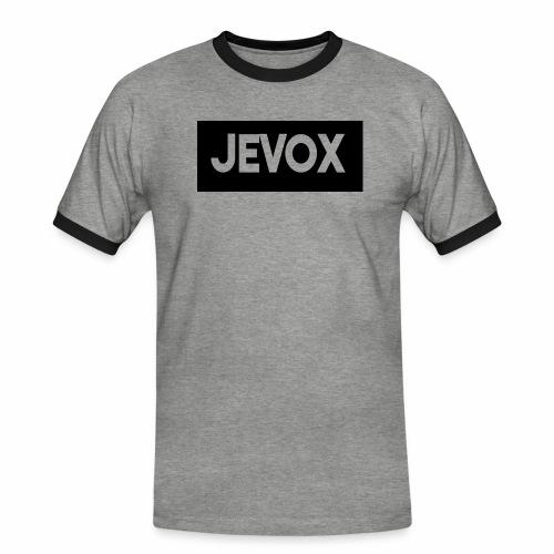 Jevox Black - Mannen contrastshirt