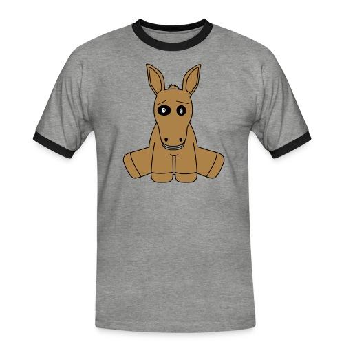 horse - Maglietta Contrast da uomo