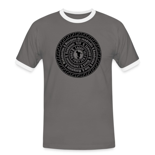 WENKA 4 - T-shirt contrasté Homme