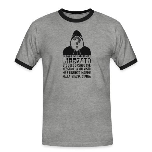 Napoletano Liberato - Maglietta Contrast da uomo