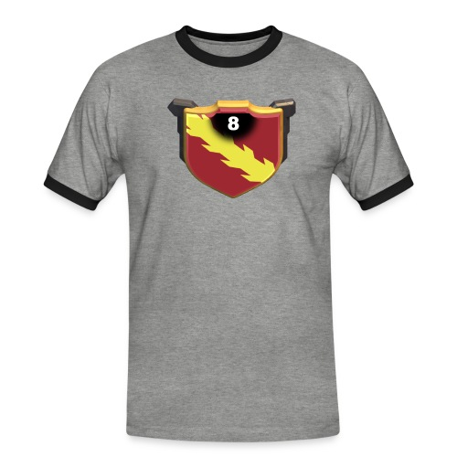 ESCUDO-01 - Camiseta contraste hombre