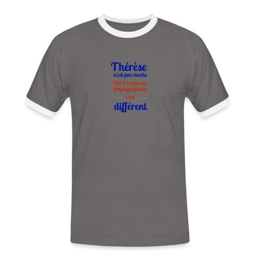Thérèse - T-shirt contrasté Homme