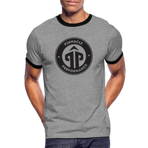 Pinnacle Performance Apparel (Black Logo) - Men's Ringer Shirt