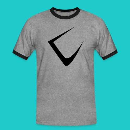 U - Männer Kontrast-T-Shirt