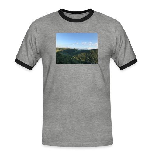 paesaggio - Maglietta Contrast da uomo
