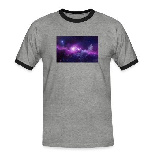 tshirt galaxy - T-shirt contrasté Homme