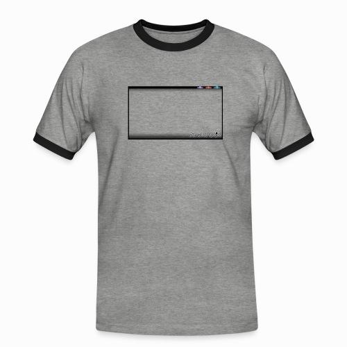The Scots Review GO LIVE! Logo - Men's Ringer Shirt