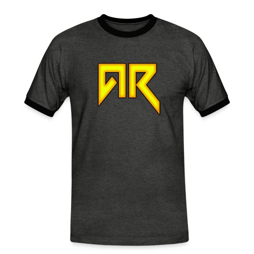 logo_trans_copy - Men's Ringer Shirt