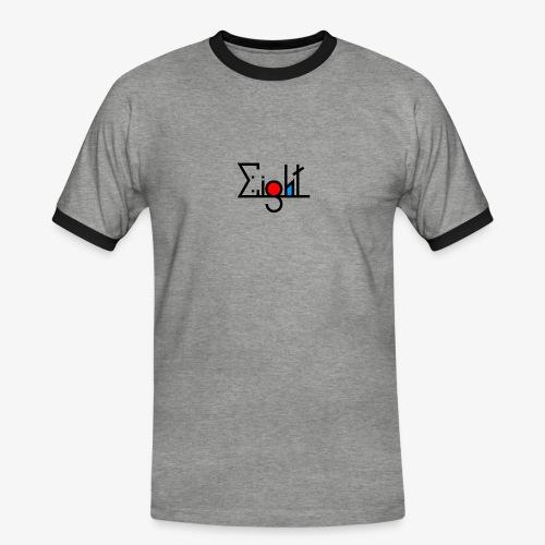 EIGHT LOGO - T-shirt contrasté Homme